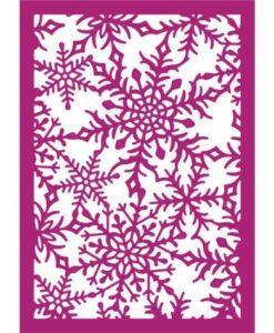 Gemini Create-a-Card – Decadent Snowflakes