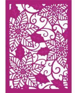 Gemini Create-a-Card – Poinsettia Perfection