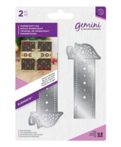 Gemini Elements Wrap Dies - Festive Bauble