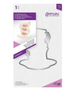 Gemini Elements Die – Floral Tea Cups