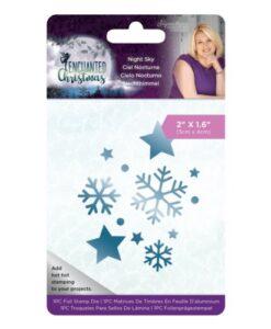 Enchanted Christmas Foil Stamp Die - Night Sky