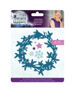 Enchanted Christmas Metal Die - Winter Wreath