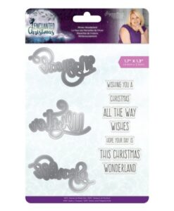 Enchanted Christmas Clearstamp & Die Set- Winter Wonderland