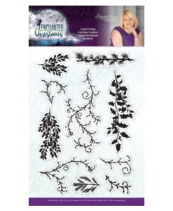 Enchanted Christmas Clearstamp - Forest Foliage