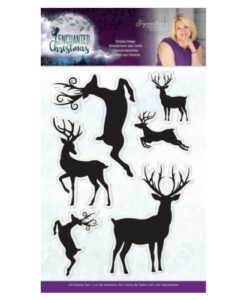 Enchanted Christmas Clearstamp - Simply Stags