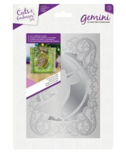Gemini Cut and Emboss Folder – Christmas Angel