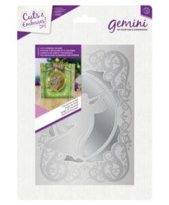 Gemini Cut and Emboss Folder – Christmas Angel