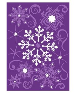 Gemini Cut and Emboss Folder – Snowflake Swirls