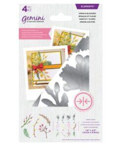 Gemini Elements Dubbelzijdige Snijmal - Sprigs & Blossoms