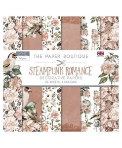 The Paper Boutique - Steampunk Romance 15x15 Paper Pad