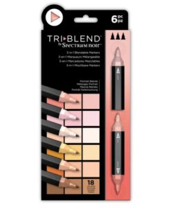 Spectrum Noir TriBlend Markers- Portrait Blends 6 pk