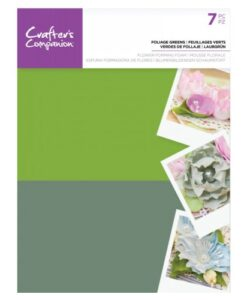 Crafter's Companion Flower Foam - Foliage Greens