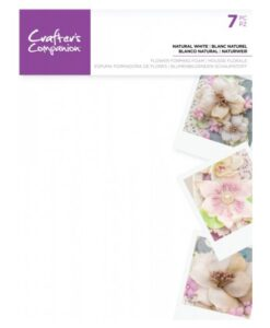 Crafter's Companion Flower Foam - Natural White