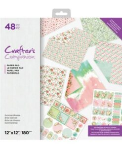 Crafter's Companion 30x30 cm Paperpad - Summer Breeze