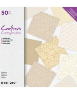 Crafter's Companion 20x20 cm Paperpad - Elegance