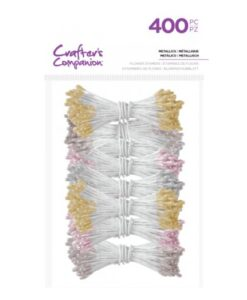Crafter's Companion Flower Foam Stamens - Metallics