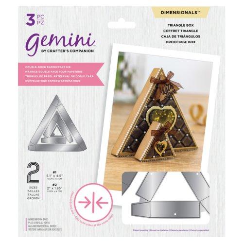 Gemini Dimensionals Dubbelzijdige Snijmal – Triangle Box