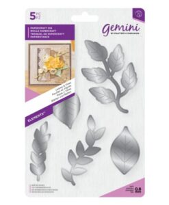 Gemini Elements Flower Foam Die - Leaves & Vines