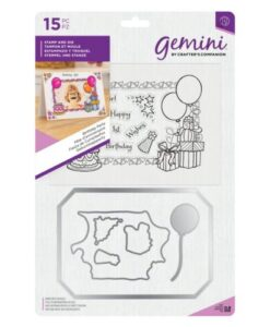 Gemini Photo Frame Stamp and Die - Birthday Party