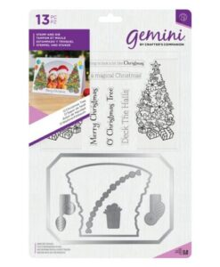 Gemini Photo Frame Stamp and Die - O'Christmas Tree