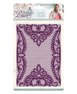 Vintage Lace - 3D Embossing Folder Ventian Lace