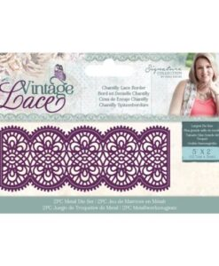 Vintage Lace - Metal Die Chantilly Lace Border