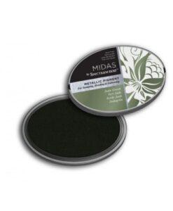 Spectrum Noir Midas Metallic inkpad - Jade Green