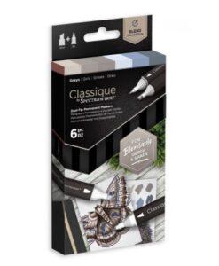 Spectrum Noir Classique Greys - Set van 6
