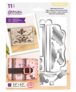 Gemini Dimensionals Precious Memories - Tabbed Page & Purse Card
