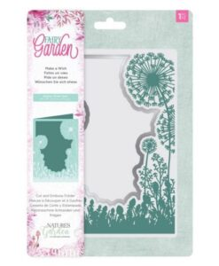 Fairy Garden Cut & Emboss Folder - Make a Wish