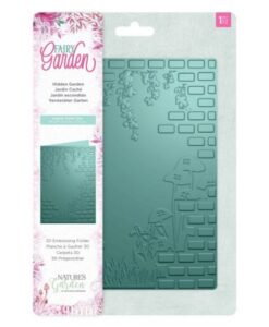 Fairy Garden 3D Embossing Folder - Hidden Garden
