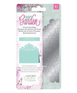 Fairy Garden Metal Die - Flower Bed Edge
