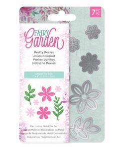 Fairy Garden Metal Die - Pretty Posies