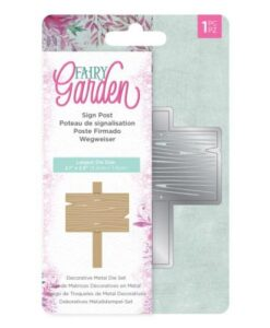 Fairy Garden Metal Die - Sign Post
