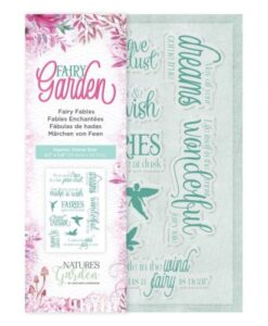 Fairy Garden Clear Stamp - Fairy Fables