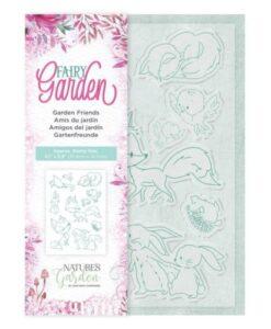 Fairy Garden Clear Stamp - Garden Friends