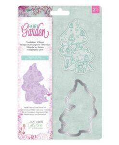 Fairy Garden Stamp & Die - Toadstool Village