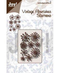 Snijmal Noor - Vintage Flourishes Meeldraden