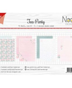 Papierset Noor Design - Tea Party