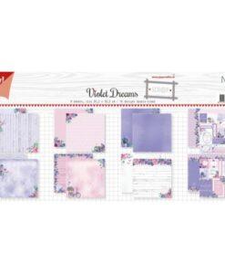 Papierset Noor Design - Violet Dreams