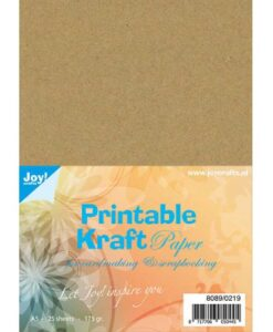 Joy! Crafts - Printable Kraftpapier A5