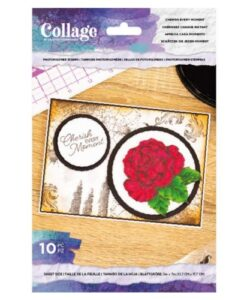 Crafter's Companion Cherish Every Moment - Collage Clearstamp