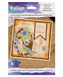 Crafter's Companion Feathered Friend - Collage Clearstamp