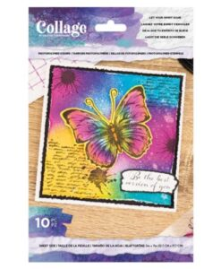 Crafter's Companion Cherish Let Your Spirit Soar - Collage Clearstamp