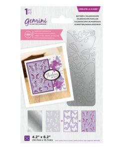 Gemini Dubbelzijdige Snijmal –Butterfly Kaleidoscope