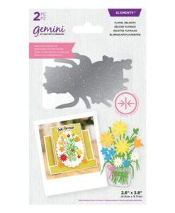 Gemini Elements Dubbelzijdige Snijmal –Floral Delights