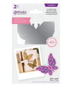 Gemini Elements Dubbelzijdige Snijmal – Flutterby Wishes