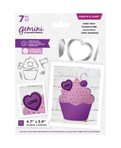 Gemini Shaped Create a Card - Sweet Treat