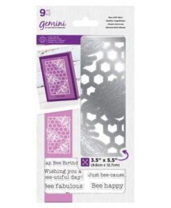 Gemini Bee-Utiful Bees - Decorative Outline Stamp & Die Set