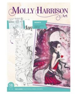 Molly Harrison Clearstamp - Hearts